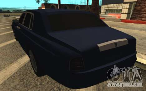 Rolls-Royce Phantom for GTA San Andreas bottom view