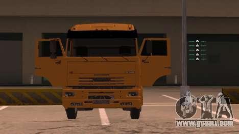 KAMAZ 260 Turbo for GTA San Andreas right view