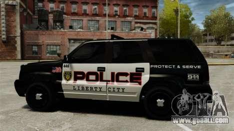 Patrol Cavalcade for GTA 4 left view