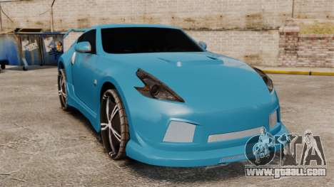 Nissan 370Z Tuning for GTA 4