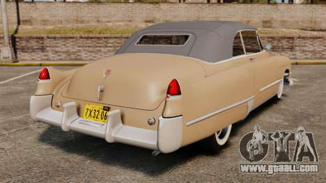 Cadillac Series 62 convertible 1949 [EPM] v4 for GTA 4 back left view
