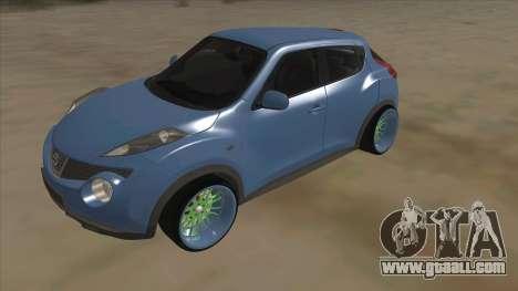 Nissan Juke Lowrider for GTA San Andreas