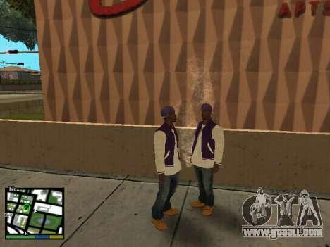 Ballas for GTA San Andreas second screenshot