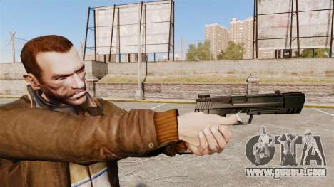 Self-loading pistol H&K USP v1 for GTA 4