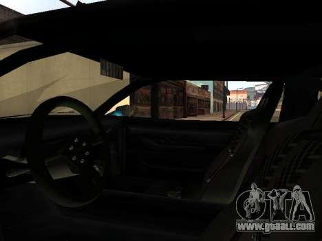 Infernus DoTeX for GTA San Andreas side view