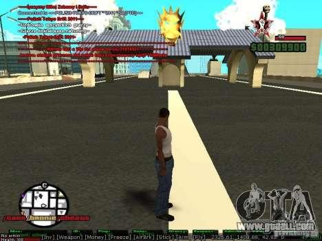 Sobeit 4.2.2.1 (2011) [RUS] for GTA San Andreas second screenshot