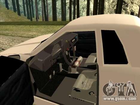 Elegy Drift for GTA San Andreas right view