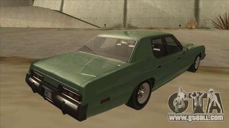 Dodge Monaco V10 for GTA San Andreas right view
