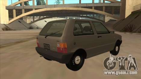 Fiat Uno 1995 for GTA San Andreas right view