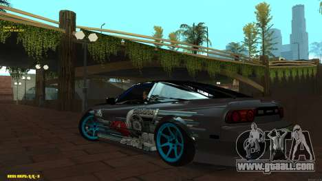 Nissan Silvia RPS13 CIAY for GTA San Andreas left view