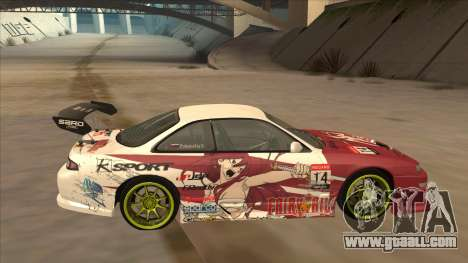 Nissan 200SX S14A Fairy Tail for GTA San Andreas