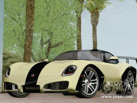 Devon GTX 2010 for GTA San Andreas wheels