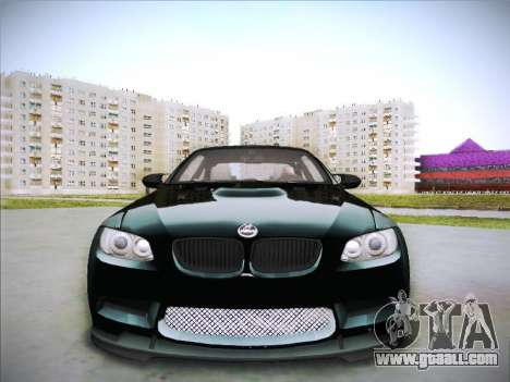 BMW M3 E92 Hamann 2012 for GTA San Andreas inner view