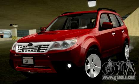 Subaru Forester XT 2008 v2.0 for GTA San Andreas right view