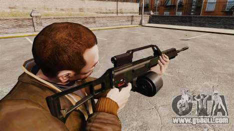 MG36 v1 H&K assault rifle for GTA 4 second screenshot