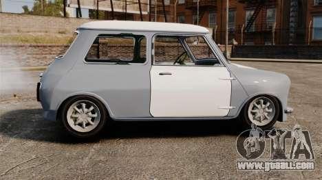 Mini Cooper S 1968 for GTA 4 left view