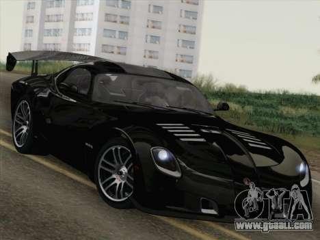 Devon GTX 2010 for GTA San Andreas engine