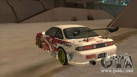 Nissan 200SX S14A Fairy Tail for GTA San Andreas right view