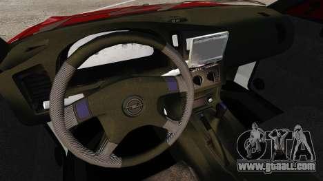 Opel Astra GSi 1993 for GTA 4 inner view