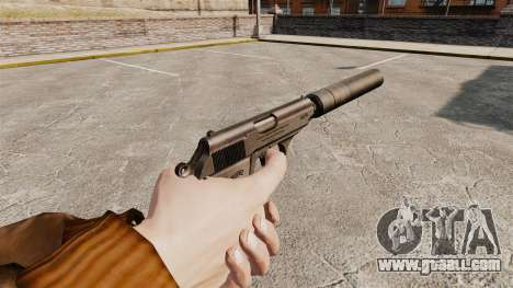 Walther PPK self-loading pistol v1 for GTA 4 second screenshot