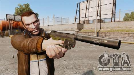 Walther P99 semi-automatic pistol v3 for GTA 4 third screenshot
