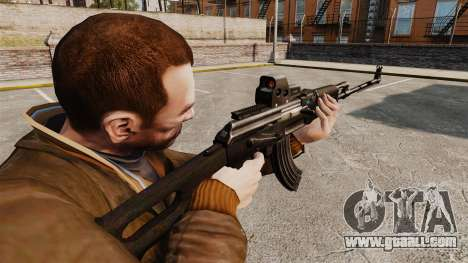 Kalashnikov light machine gun for GTA 4 second screenshot