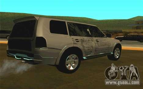 Mitsubishi Pajero for GTA San Andreas right view
