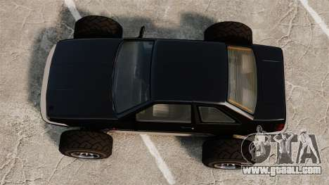 Futo-buggy for GTA 4 right view