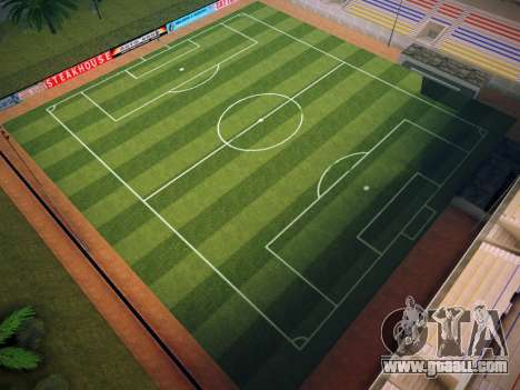 Soccer field for GTA San Andreas
