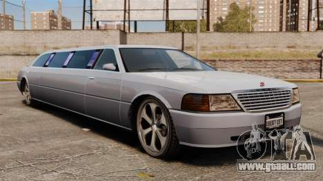 Limo on the 22-inch drives for GTA 4