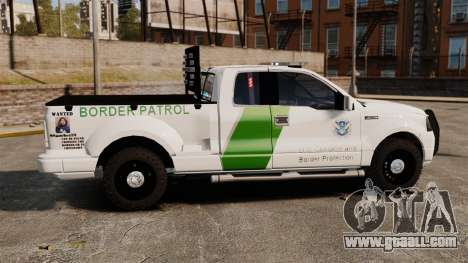 Ford F-150 v3.3 Border Patrol [ELS & EPM] v1 for GTA 4 left view