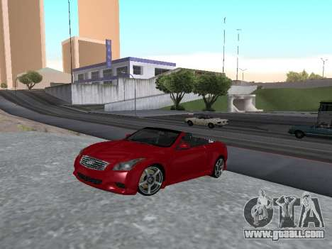 Infiniti G37 S Cabriolet for GTA San Andreas