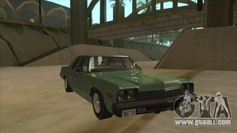 Dodge Monaco V10 for GTA San Andreas left view
