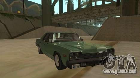 Dodge Monaco V10 for GTA San Andreas left view