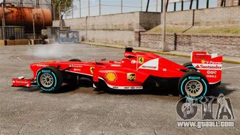 Ferrari F138 2013 v1 for GTA 4 left view