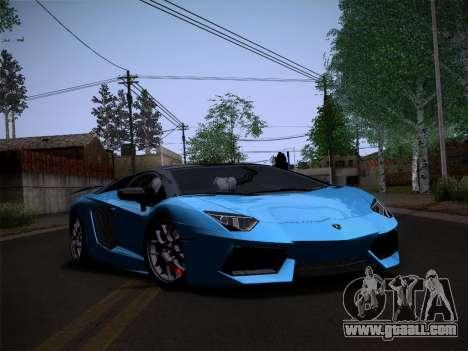 Lamborghini Aventador LP760-2 for GTA San Andreas