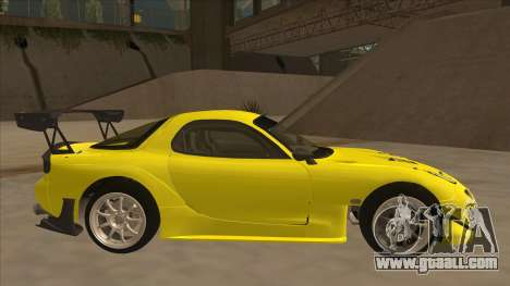 Mazda RX7 FD3S RE Amemyia Touge Style for GTA San Andreas back left view