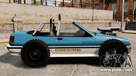Jeep Futo Final for GTA 4 left view