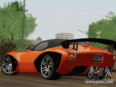 Devon GTX 2010 for GTA San Andreas side view