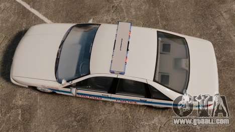 Chevrolet Caprice 1991 [ELS] v1 for GTA 4 right view