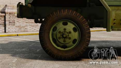 Basic military truck AM General M35A2 1950 for GTA 4 inner view