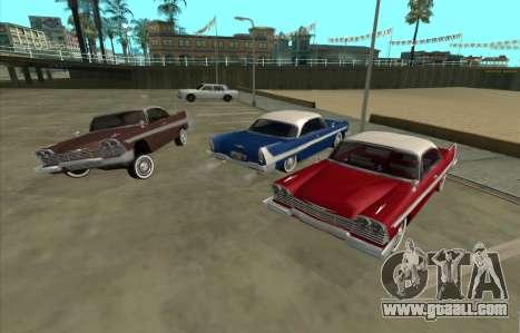 Plymouth Fury for GTA San Andreas