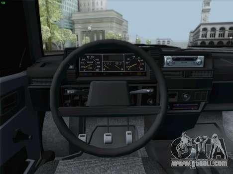 VAZ 21093i for GTA San Andreas interior