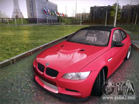 BMW M3 E92 Hamann 2012 for GTA San Andreas back left view