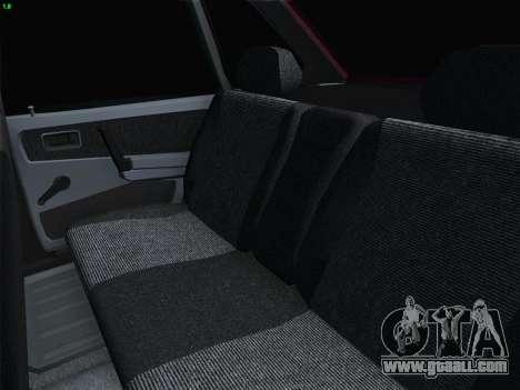 VAZ 21093i for GTA San Andreas wheels