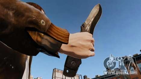 Tactical knife v1 for GTA 4 third screenshot