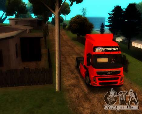Volvo FM Globetrotter XL 6x4 for GTA San Andreas left view