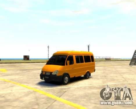 Gazelle 3221 for GTA 4