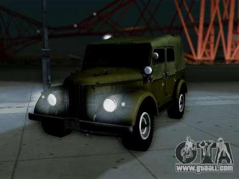 UAZ-69A for GTA San Andreas