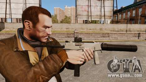 Tactical MP9 submachine gun v3 for GTA 4